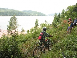 Biking around Domaša