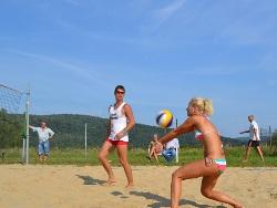 Beach volleyball (Rumpeľ)