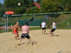 Beach volleyball (Rumpeľ)