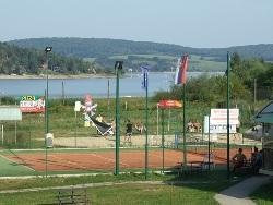 Kort tenisowy (Rumpeľ)