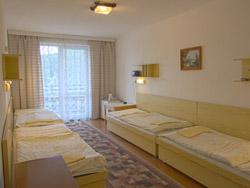 4-posteľová izba bez predizby
