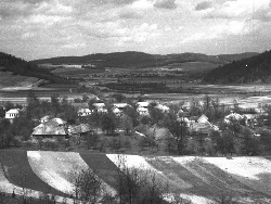 Widok na pierwotną miejscowość Valkov