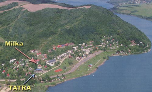 Aerial view of Valkov (year 2005)