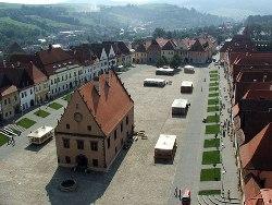 Centrum mesta Bardejov