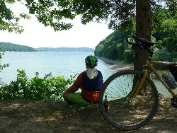 Biking around Domaša
