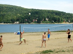 Beach volleyball (Tíšava)