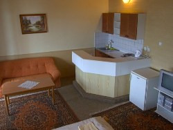 Suite: living room (2 beds)