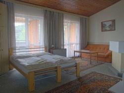 Apartmán: obývacia časť (2 lôžka)