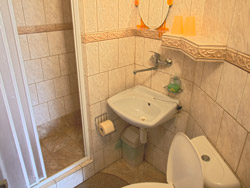Kúpeľna v izbách