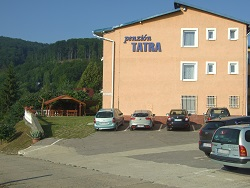 Parking next to guesthouse TATRA